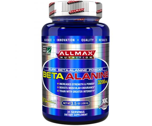 ALLMAX Nutrition BetaAlanine 3200 мг. (100 гр.)