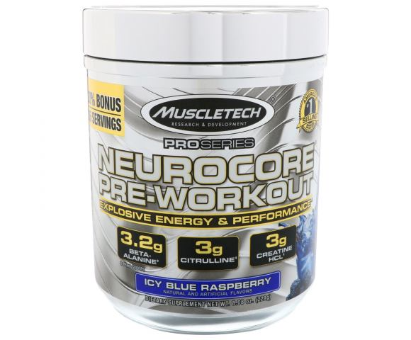MuscleTech Neurocore Pre-Workout (255 гр.)