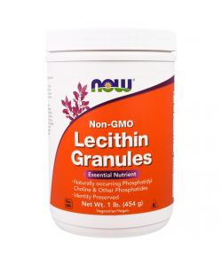 Now Foods Lecithin Granules (454 гр.)