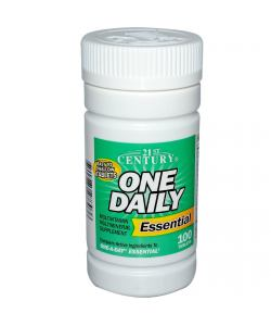 21st Century One Daily Essential (100 таб.)