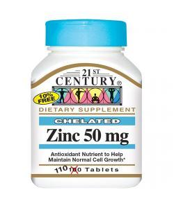 21st Century Zinc 50 mg. (110 таб.)