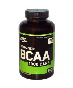 Optimum Nutrition BCAA 1000 caps (200 капс.)