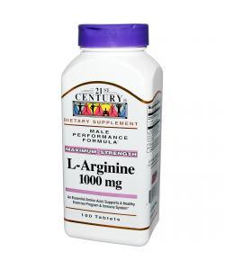 21st Century L-Arginine 1000 mg (100 таб.)