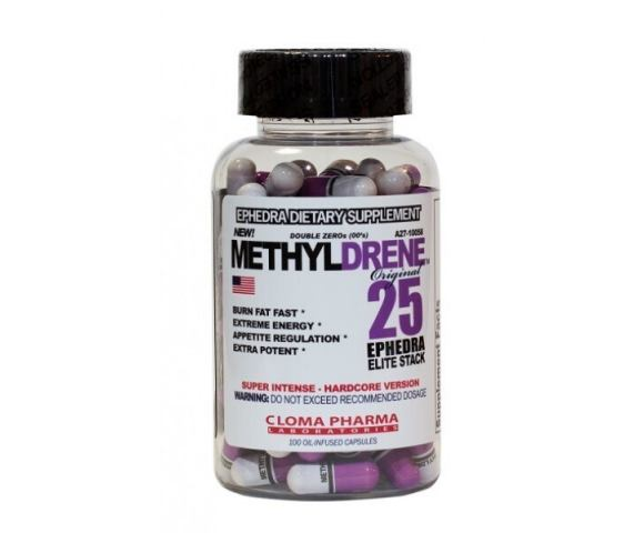Cloma Pharma Methyldrene-25 Elite (100 капс.)