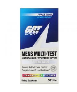 GAT Men's Multi + Test (60 таб.)