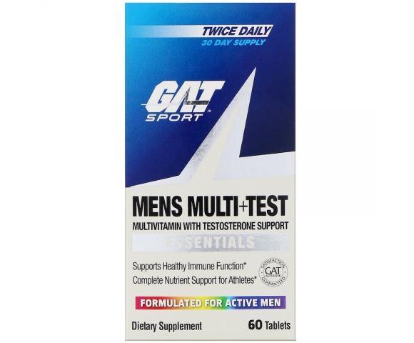 GAT Men's Multi + Test (60 таб.)