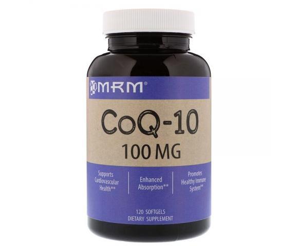 MRM CoQ-10 100 mg (120 капс.)