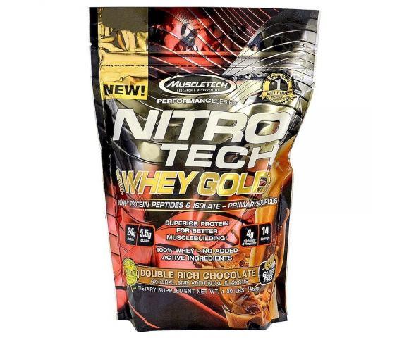 MuscleTech NitroTech Whey Gold (454 гр.)