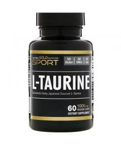 California Gold Nutrition L-Taurine 1000 mg (60 капс.)