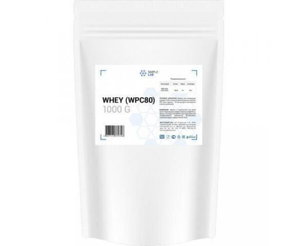 SimpleLab Whey (WPC 80) (1000 гр.)