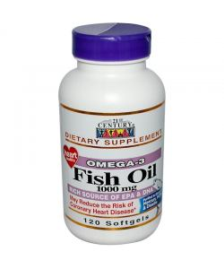 21st Century Fish Oil 1000 mg. (120 капс.)
