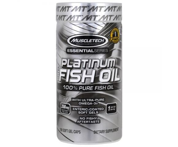 MuscleTech Platinum Fish Oil (100 капс.)
