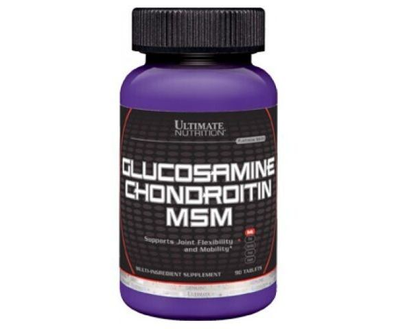 Ultimate Nutrition Glucosamine Chondroitin MSM (90 таб.)
