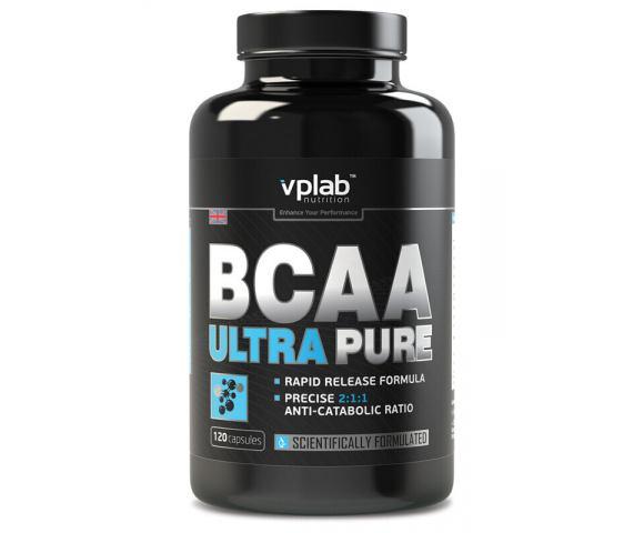 VPLab Nutrition BCAA Ultra Pure (120 капс.)
