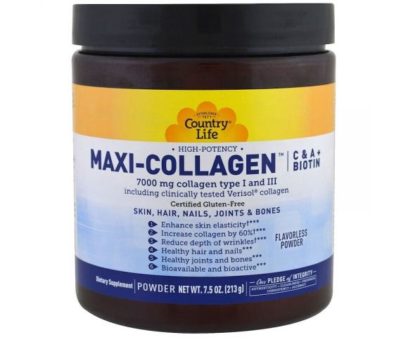 Country Life Maxi-Collagen (213 гр.)