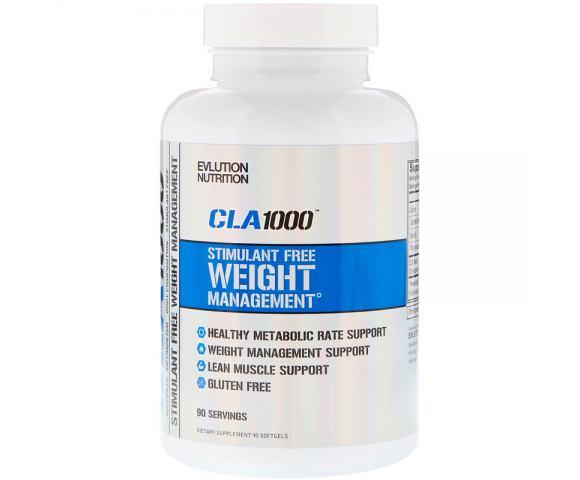 EVLution Nutrition CLA 1000 (90 капс.)