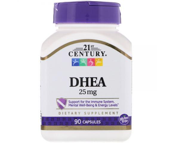 21st Century DHEA 25 mg (90 капс.)