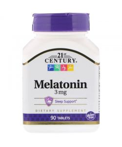 21st Century Melatonin 3 mg (90 таб.)