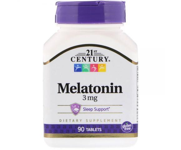 21st Century Melatonin 3 mg (90 таб.)