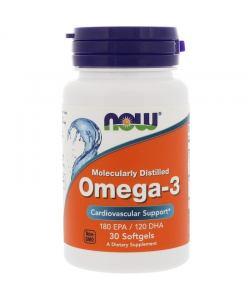Now Foods Omega-3 (30 капс.)