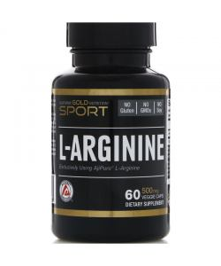 California Gold Nutrition L-Arginine (60 капс.)