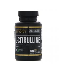 California Gold Nutrition L-Citrulline (60 капс.)