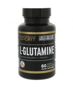 California Gold Nutrition L-Glutamine (60 капс.)