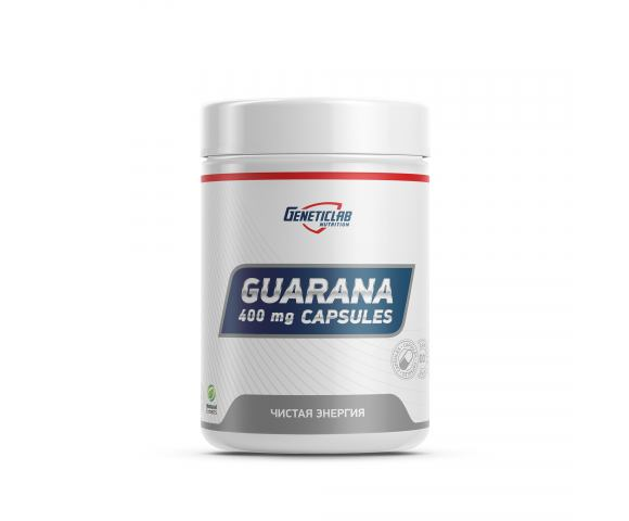 Geneticlab Nutrition Guarana (60 капс.)