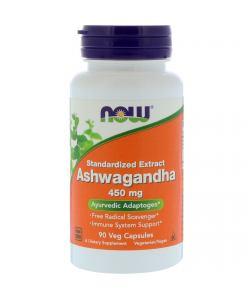 Now Foods Ashwagandha 450 mg 90 (капс.)