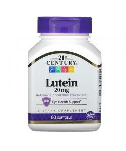 21st Century Lutein 20 mg (60 таб.)