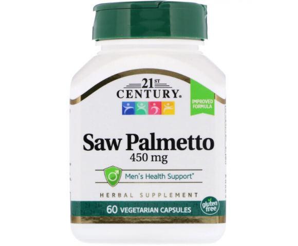 21st Century Saw Palmetto 450 mg (60 капс.)