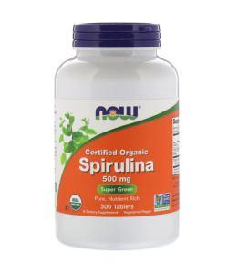 Now Foods Spirulina 500 mg (500 таб.)