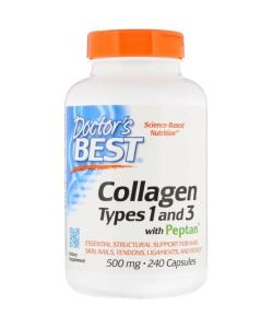 Doctor's Best Collagen Types 1 and 3 (240 капс.)