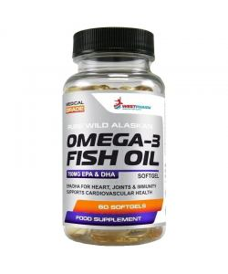WestPharm Omega-3 Fish Oil (60 капс.)
