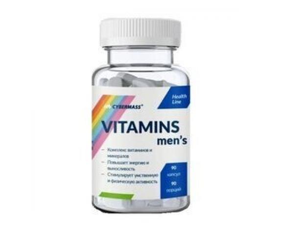 Cybermass Vitamins men`s (90 капс.)