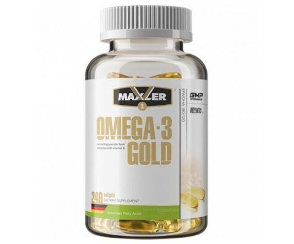 Maxler Omega-3 Gold (240 капс.)