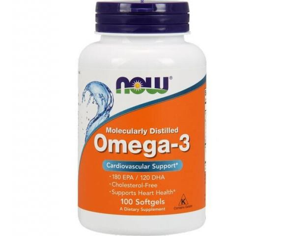 Now Foods Omega-3 (100 капс.)
