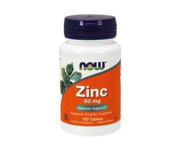 Now Foods Zinc 50 mg (100 таб.)