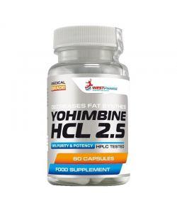 WestPharm Yohimbine HCL 2.5 (60 капс.)