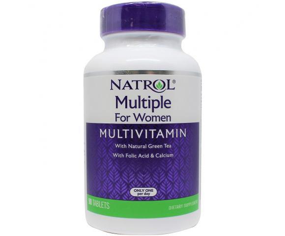 Natrol Multiple For Women (90 таб.)