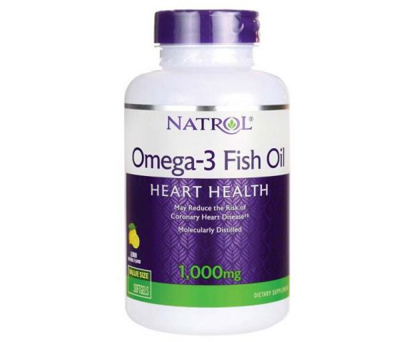 Natrol Omega-3 Fish Oil (90 капс.)