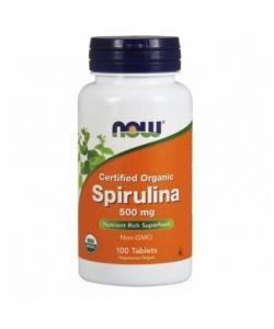 Now Foods Spirulina 500 mg (100 таб.)