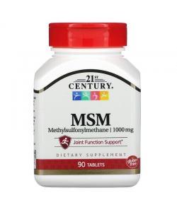 21st Century MSM 1000 mg (90 таб.)