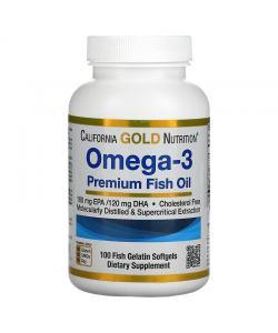 California Gold Nutrition Omega-3 (100 капс.)