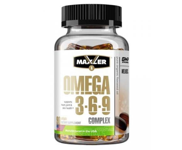 Maxler Omega 3-6-9 (90 капс.)