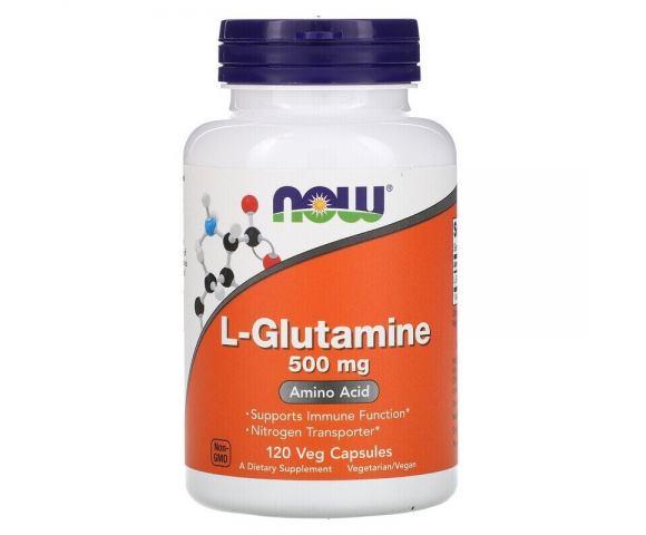 Now Foods L-Glutamine 500 mg (120 капс.)