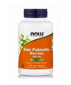 Now Foods Saw Palmetto Berries 550 mg (100 капс.)