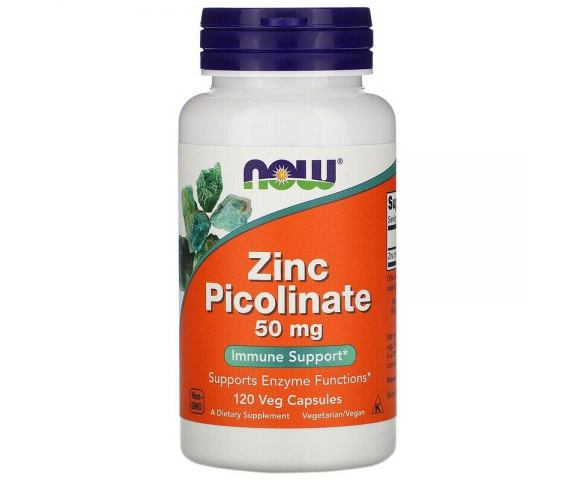 Now Foods Zinc Picolinate 50 mg (120 капс.)