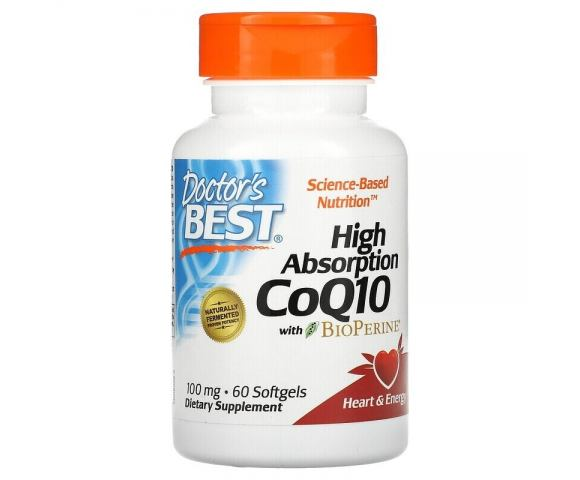 Doctor's Best Co Q10 100 mg (60 капс.)