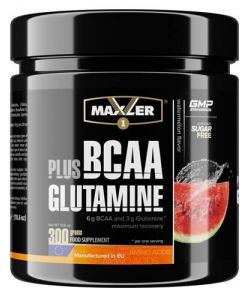 Maxler BCAA plus Glutamine (300 гр.)